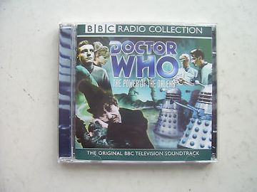 Doctor Who Power of the Daleks CD  Soundtrack Patrick Troughton